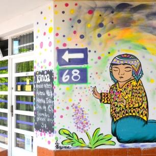 Dirección 68 y esquina 18 / Autora La Negra / Fotografía Walter Amori