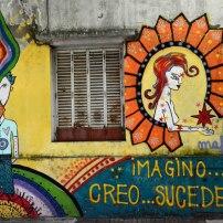 Ubicación 69 esq. 11 / Autores: Luz Violeta (Agus) y Maf / Fotografìa: Walter Amori