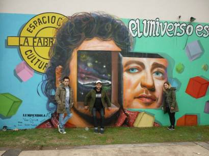 """""""MAGIA"""" EN CARLOS CASARES Realizado por LumpenBola / Vane Ajcius / Ricky Tunez y La Fábrica"""