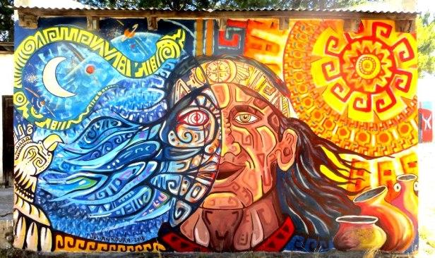 Autor: Roura en Comunidad mapuche Lof Paynefilu- Neuquén